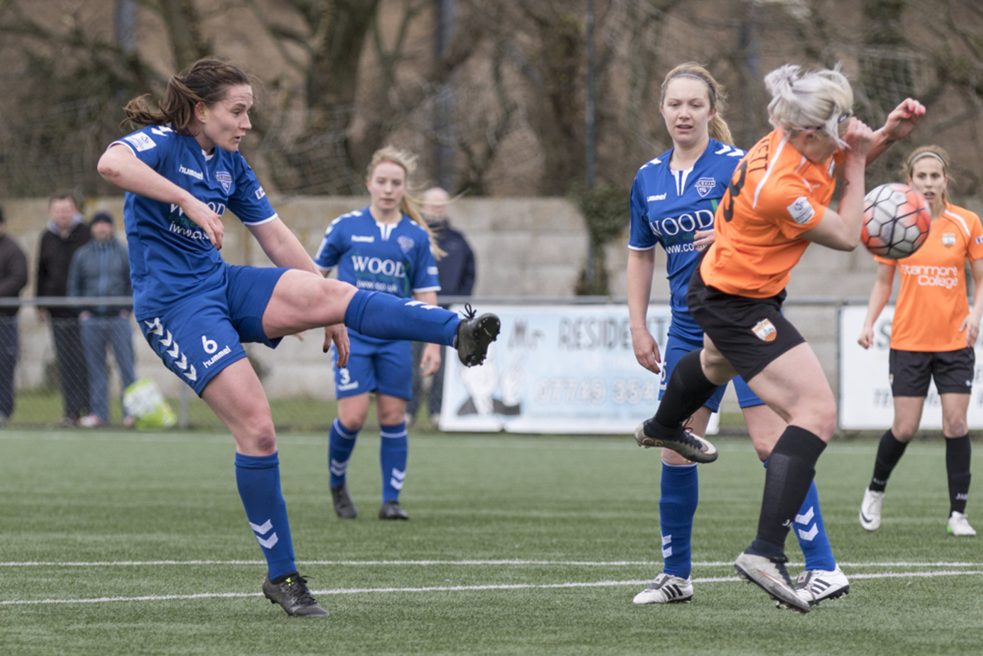 Durham WFC v London Bees, March 2016