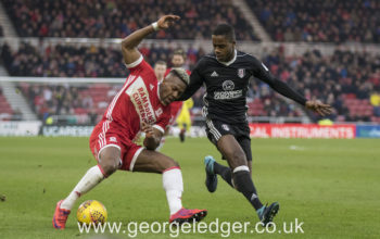 Middlesborough 0 – 1 Fulham FC, Jan 2018